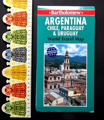 Map : Argentina, Chile, Paraguay, Uruguay, Edition : 1994, (GB).