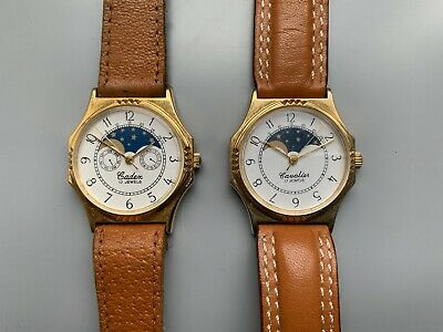 Cavalier & Cadex Two Mechanical Watches 17J - Spares/Repair