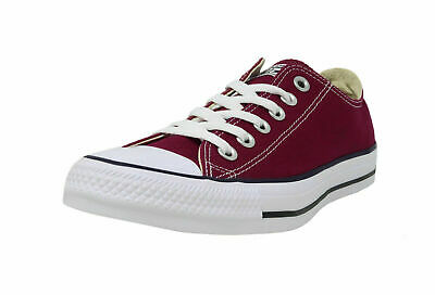 Converse All Star Low Top Chuck Taylor Ox Shoes Burgundy (Maroon) Canvas Unisex