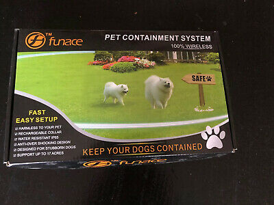 Pet Containment System 100% Wireless Funace