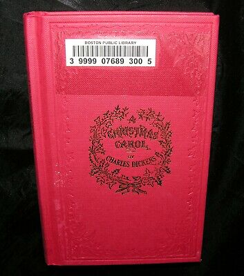 A Christmas Carol By Charles Dickens 🕯 1843 First Edition Reproduction Illust.