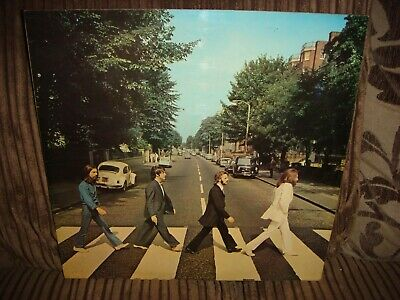 THE BEATLES - ABBEY ROAD - Vinyl LP RECORD Album -1969 - PCS7088 - K1