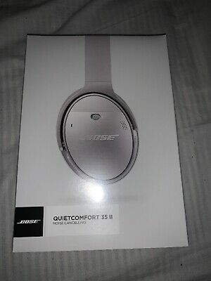 Bose QuietComfort35 ii Qc35 Headband Wireless Headphones-Silver Amazing Xmas Gif