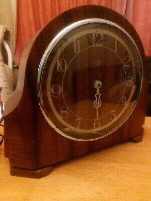 Smith's Electric Mantle Clock Spares Or Repair