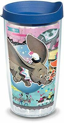 Tervis 1319401 Disney - Dumbo Circus Insulated Travel Tumbler with Wrap and Blue