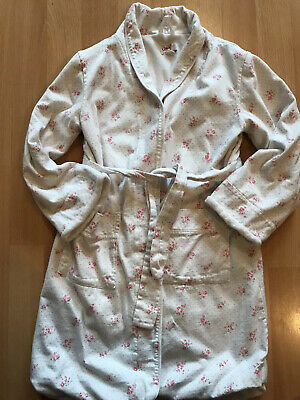 Little Girls Cath Kidston White Floral Dressing Gown Age 5-6 Years