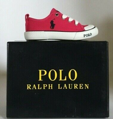 Polo Ralph Lauren Baby Toddler Ultra Pink Carlisle III Style 992613 for Girls