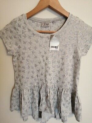 Next Girls Butterfly Print Top BNWT Age 10 Years
