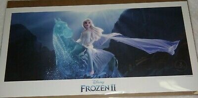 Frozen  Ii Limited Edition Lithograph Walt Disney Seal 18 By 9 Inches Very Rare