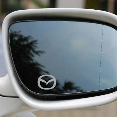 4X MAZDA Car Symbol Logo Vinyl Decal Sticker Wing Mirrors Graphics High Quality