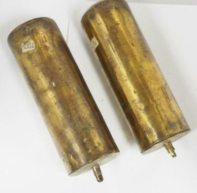 Antique Longcase Brass Weights Bronze Lead Weights For Grandfather Clock 18THC