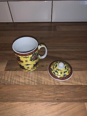 chinese tea cup with lid