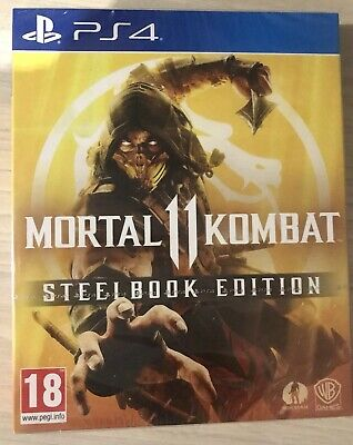 Mortal kombat 11 PS4 steelbook editon