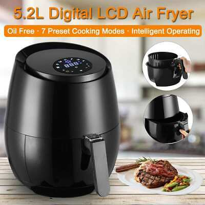 1,4KW 5L Multifunction Air Fryer Chicken Oil free Health Fryer Pizza