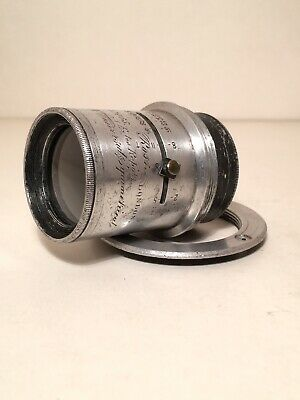 Antique Ross London 5x4 Extra Rapid Universal Symmetrical Camera Lens