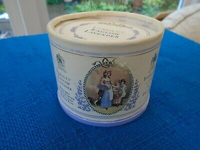 Vintage Yardley Lavender Dusting Powder 80G In Box  With Puff New & Unused
