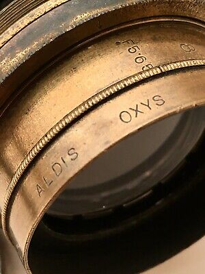 Antique Aldis Oxys F5.65 No.13 Camera Lens