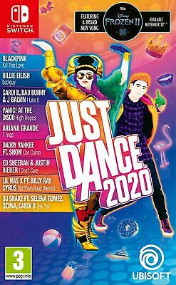 Just Dance 2020 Switch Nintendo Game Brand New and Sealed - Switch Wii Ps4 Xbox1