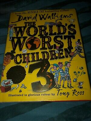 David Walliams The World's Worst Children 3 Hardback Book - New
