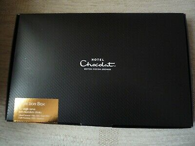 Hotel Chocolat 10 x Hot Chocolate single serve sachets Boxed 5 varieties Genuine