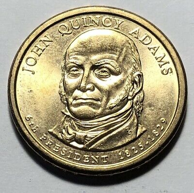 United States 2008 John Quincy Adams Presidential One Dollar Coin