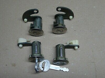 Nos Oem Ford Van Front & Rear Door Lock Set Locks Sliding 1977 -1988 & 2 Keys