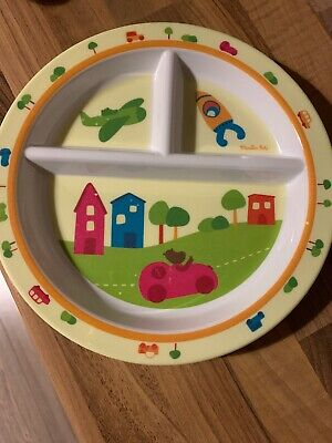 Kids Plate With Compartments