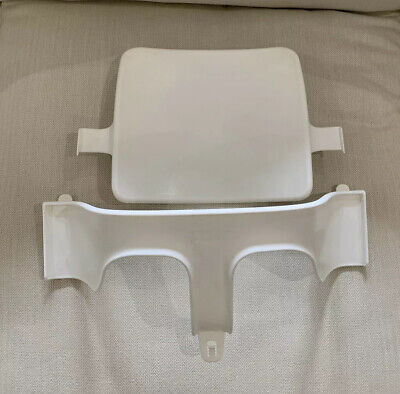stokke tripp trapp high chair baby set In White