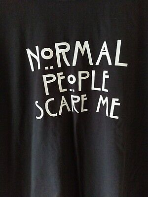 American Horror Story - Normal People Scare Me design T-Shirt - XXL - New