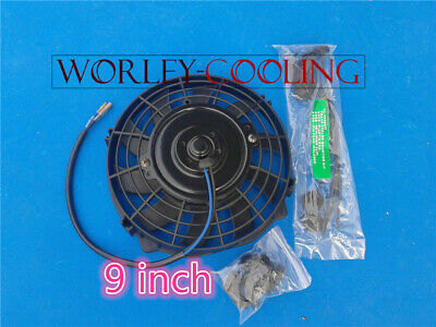 "FOR UNIVERSAL 9"" inch Universal Electric Radiator Fan New with mounting kit"
