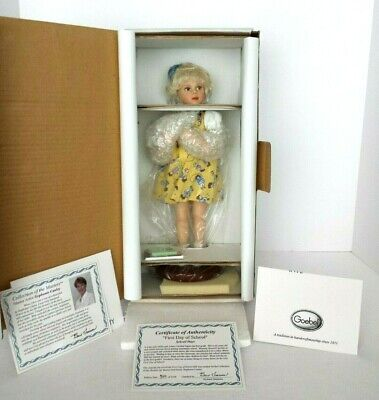 Nrfb Richard Simmons First Day Of School Doll Collection Of The Masters Coa#510