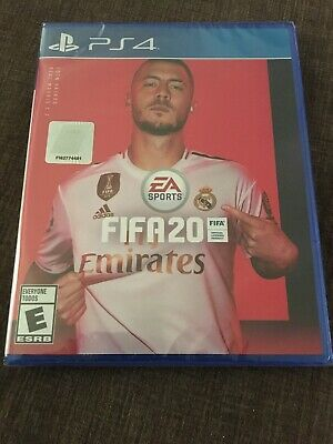 Fifa 20 (Playstation 4, Ps4) Brand New & Factory Sealed!!