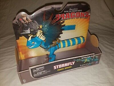How to Train Your Dragon 2 STORMFLY Power Dragon Tail Twist Spike Attack NEW