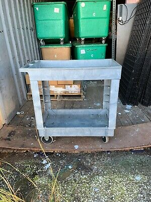 Rubber Maid Industrial Cart 500 Pound Capability