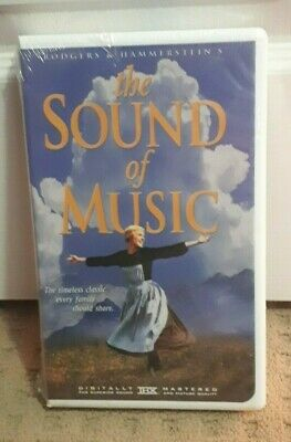 VHS Tape Movie The SOUND of MUSIC FOX 20  Rated G Clam shell