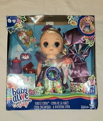 NEW Baby Alive Once Upon a Baby: Forest Tales Forest Emma