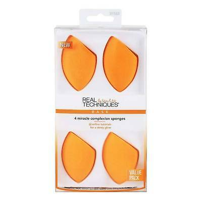 New Real Techniques Miracle Complexion Sponge 4 Pack - UK Stock