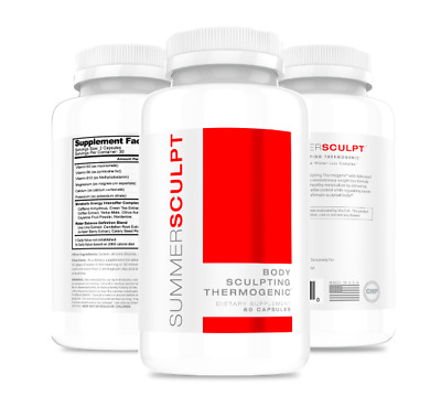 SummerSculpt Body Sculpting Thermogenic Fat Burner Weight Loss 60 capsules