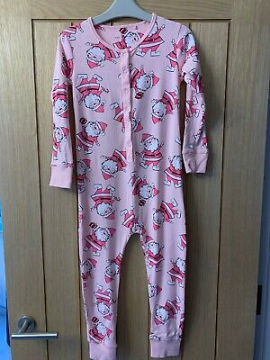Next Girls Novelty Father Christmas Snuggle One Piece 7yrs