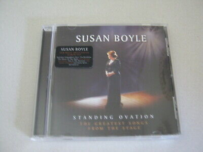 CD Susan Boyle Standing Ovation The Greatest Songs from the stage 11 tracks