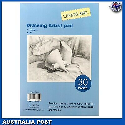 A4 Paper Art Artist Sketchbook Sketch Pad  Drawing Painting 30 pages
