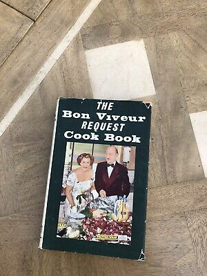 The Bon Viveur Request Cook Book Fanny Cradock 1950s Cookery Food 1st Ed HB DW