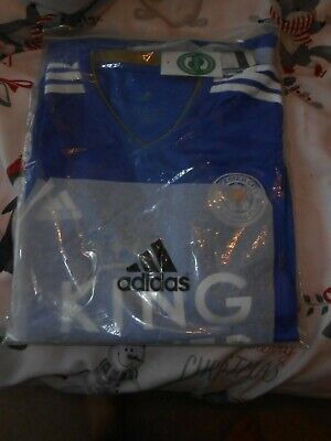 Leicester City Large Home Shirt 2018/19 Season Never Worn In Bag