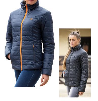 Mark Todd Quilted Rhapsody Ladies Jacket, Black or Navy, Large (~UK14) rrp £84
