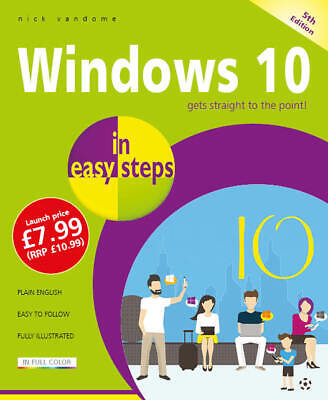 Windows 10 in easy steps, 5th edition - updated for the November 2019 Update