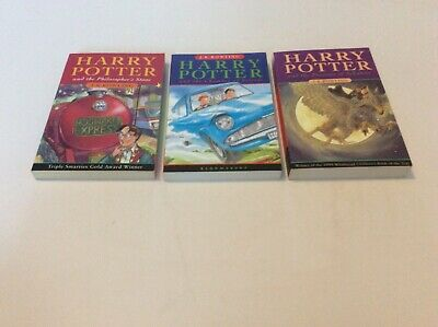 Collection of Harry Potter Book's First 3 Paperbacks.