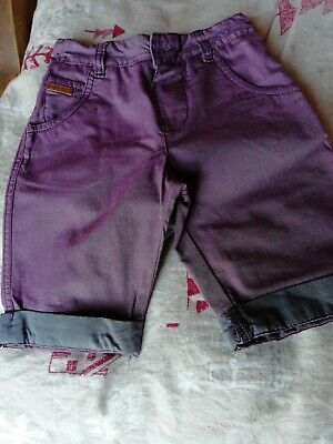 Ted Baker Boys Shorts Age 3-4 Purple