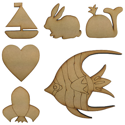 Base MDF for mosaic arts and crafts - Various Shapes