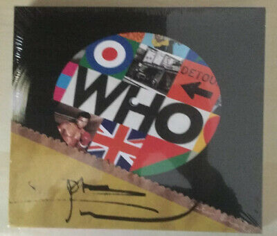 The Who WHO CD ALBUM Signed Pete Townshend (New Release December 2019) AUTOGRAPH
