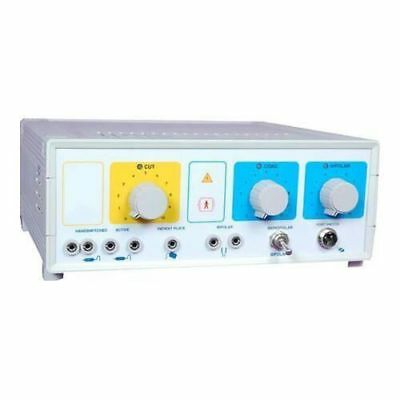 New Electrosurgical Generator 300W Surgical Cautery Diathermy Foot Switch Contro